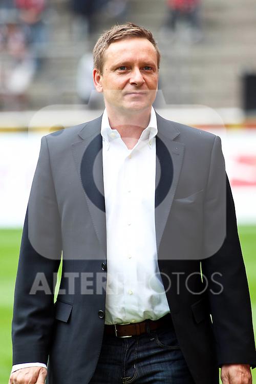 14.05.2010,  Rhein Energie Stadion, Koeln, GER, 1.FBL, FC Koeln vs Schalke 04, 34. Spieltag, im Bild: Horst Heldt (Manager Schalke 04)  Foto © nph / Mueller