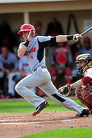 University of Hartford Hawks outfielder Nick Campana (14) during a game versus the Boston College Eagles at Pellagrini Diamond at Shea Field on May 9, 2015 in Chestnut Hill, Massachusetts. (Ken Babbitt/Four Seam Images)