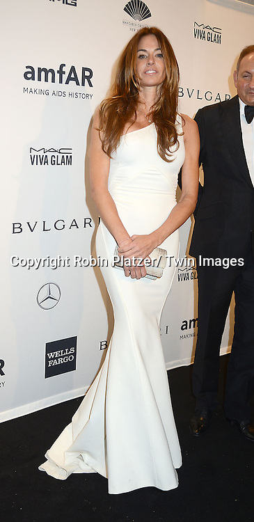Kelly Bensimon attends the amfAR New York Gala on February 5, 2014 at Cipriani Wall Street in New York City.