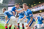Rob Kiernan celebrates as Kenny Miller scores the winner