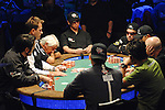 A view of the final table nine.