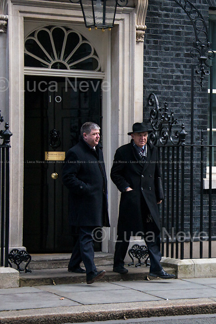 (From L to R) Alistair Carmichael MP (Secretary of State for Scotland) &amp; Vince Cable MP (Secretary of State for Business, Innovation and Skills and President of the Board of Trade).<br /> <br /> London, 18/03/2015. British Government's weekly Cabinet meeting held at 10 Downing Street before the Chancellor's announcement of the Budget for the fiscal year 2015.