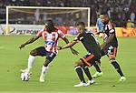Junior venció como local 3-0 a América. Fecha 3 Liga Águila II-2017.