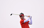 SUZHOU, CHINA - APRIL 17:  Y.E. Yang of Korea tees off on the 17th hole during the Round Three of the Volvo China Open on April 17, 2010 in Suzhou, China. Photo by Victor Fraile / The Power of Sport Images