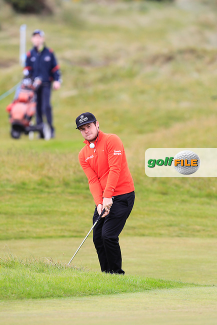 Tyrrell HATTON (ENG)  during the Pro-Am of the 2015 Dubai Duty Free Irish Open, Royal County Down Golf Club, Newcastle Co Down, Northern Ireland. 27/05/2015<br /> Picture Thos Caffrey, www.golffile.ie