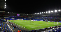 4th February 2020; Cardiff City Stadium, Cardiff, Glamorgan, Wales; English FA Cup Football, Cardiff City versus Reading; Cardiff City attack early in the second half in front of a very small crowd