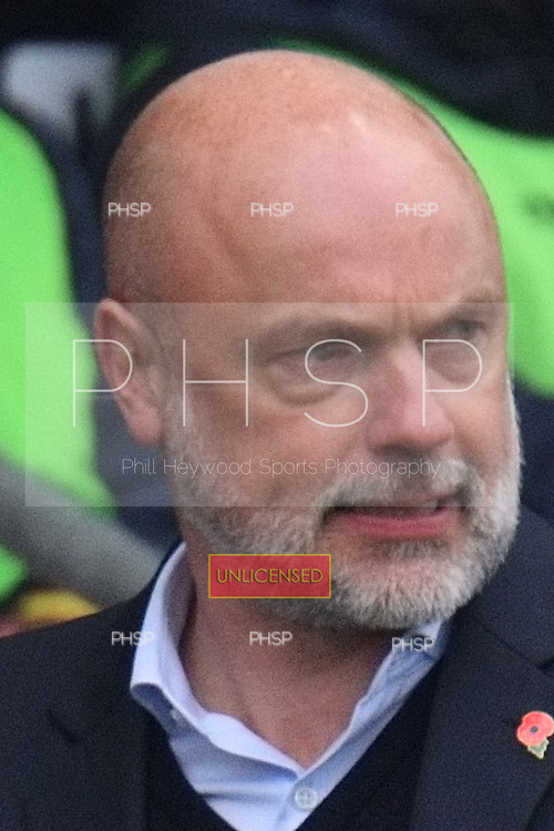 11/03/2017 Sky Bet League 1 Fleetwood Town v Bolton Wanderers<br /> <br /> Fleetwood Town manager, Uwe Rosler