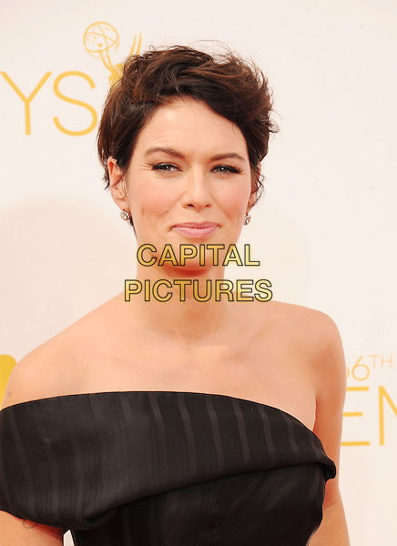 LOS ANGELES, CA- AUGUST 25: Actress Lena Headey  arrives at the 66th Annual Primetime Emmy Awards at Nokia Theatre L.A. Live on August 25, 2014 in Los Angeles, California.<br /> CAP/ROT/TM<br /> &copy;Tony Michaels/Roth Stock/Capital Pictures