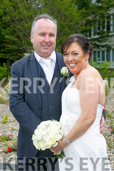 Regina Hennessy and Tom Griffin were married at St. John's Church Tralee by  Fr Piotr Delimat on Saturday 29th  July 2017 with a reception at the Earl of Desmond Hotel