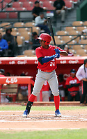 Jose Lopez participates in the MLB International Showcase at Estadio Quisqeya on February 22-23, 2017 in Santo Domingo, Dominican Republic.