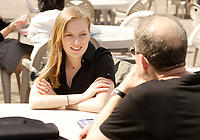 Montreal (Qc) CANADA, May 10 2007-<br /> <br /> Sarah Polley is in Montreal to talk about the movie AWAY FROM HER that she directed<br /> <br /> photo (c)  Images Distribution