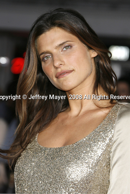 "Actress Lake Bell arrives at the Premiere Of Fox's ""What Happens In Vegas"" on May 1, 2008 at the Mann Village Theatre in Los Angeles, California."