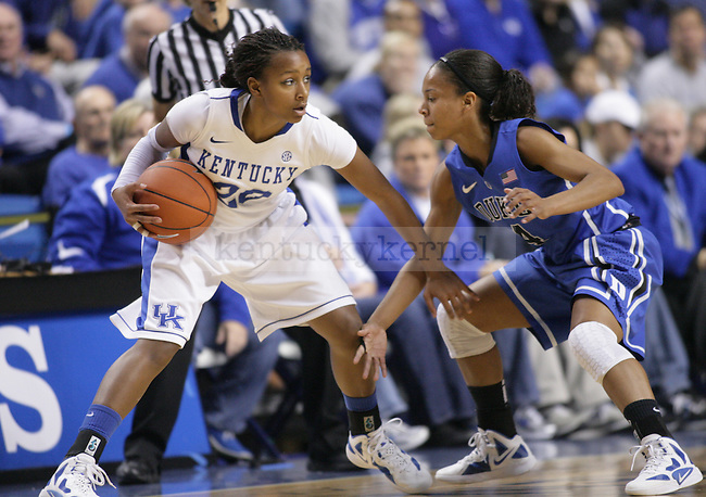 The UK Women's Basketball team plays Duke at Rupp Arena on Thursday, Dec. 8, 2011. Photo by Scott Hannigan | Staff