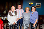Denis Foley from Tralee celebrating his birthday in the Imperial Hotel on Saturday night<br /> L to r: Tommy, Denis, Margaret and Julianne Foley.