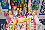 Pictured are members of Ciar Quilters, at their exhibition at the Kery County Museum on Friday from left: Sharon Hodgkiss, Mary Codd, Rita Kelly, Mary Allen, Sheila Allen and Nuala O'Connor..