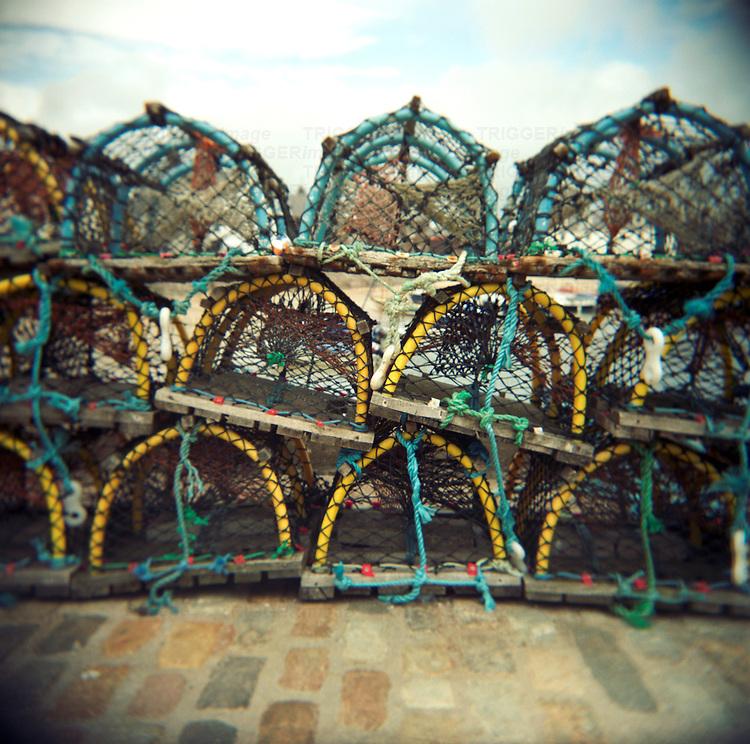 Fishing pots,
