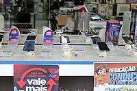 CAMPINAS, SP 25.07.2019 - ROUBO/CASAS BAHIA - Uma loja de eletrodomésticos na Rua Barão de Jaguara, região central de Campinas (SP), foi assaltada nesta quinta-feira (25). A Polícia Militar prestou apoio na ocorrência e informou que os suspeitos tentaram fugir de ônibus do local. A PM havia contabilizado o roubo de 23 celulares, todos da loja.<br /> Segundo a corporação, cinco pessoas, que teriam envolvimento na ação, foram detidas e encaminhadas ao 1º Distrito Policial do município. (Foto: Denny Cesare/Código19)