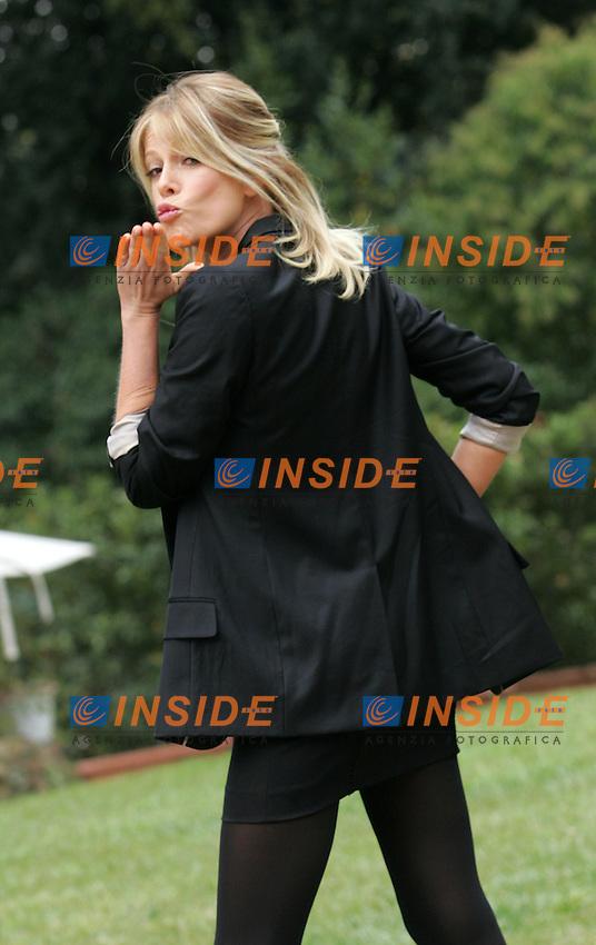 ALESSIA MARCUZZI<br />Roma 16/10/2010 Pressentazione della trasmissione Grande Fratello 11.<br />Photo Samantha Zucchi Insidefoto
