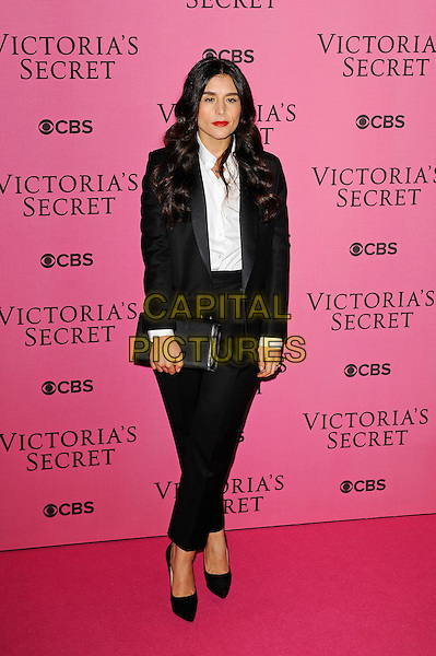 LONDON, ENGLAND - DECEMBER 2: Jessie Ware attends the pink carpet for Victoria's Secret Fashion Show 2014, Earls Court on December 2, 2014 in London, England.<br /> CAP/MAR<br /> &copy; Martin Harris/Capital Pictures