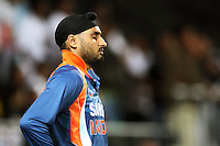 India's Harbahjan Singh during 2nd Twenty20 cricket match match between New Zealand Black Caps and West Indies at Westpac Stadium, Wellington, New Zealand on Friday, 27 February 2009. Photo: Dave Lintott / lintottphoto.co.nz