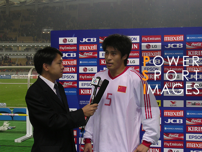 China vs Malaysia during the 2004 Olympic Preliminary Qualifier Group A match on March 22, 2015 at the Wuhan Sports Centre in Wuhan, China. Photo by World Sport Group
