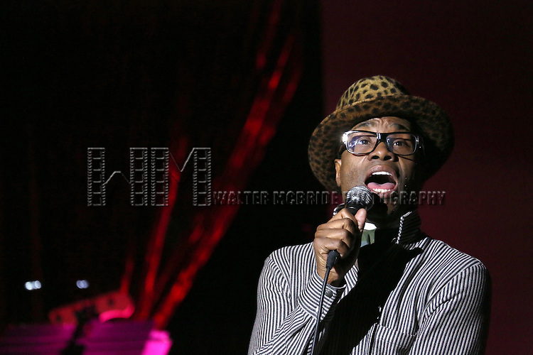 Billy Porter performing at The Lilly Awards Broadway Cabaret'   at The Cutting Room on November 9, 2015 in New York City.