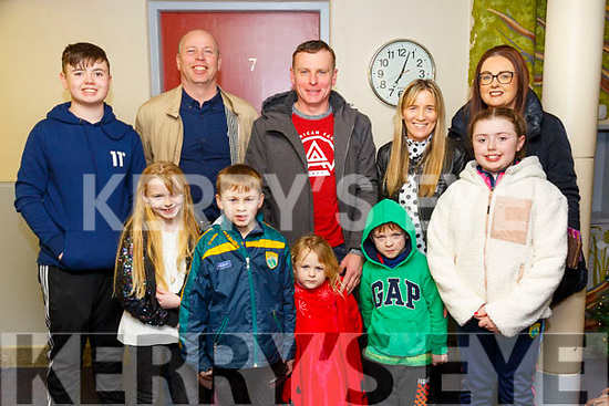 "Beauty & The Beast: The Walsh & Sharpl families from  Listowel pictured at the Listowel Pantomine Group's presentation of ""Beauty & the Beast"" at Scoil Realta na Madna, Listowel over last weekend."