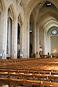 The Nave of Guildford Cathedral looking towards the High Altar.