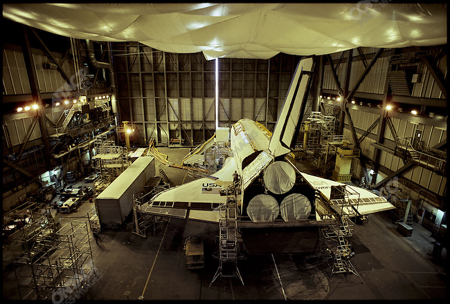 Space Shuttle Discovery, NASA, Cape Canaveral, Florida, USA, February 1986