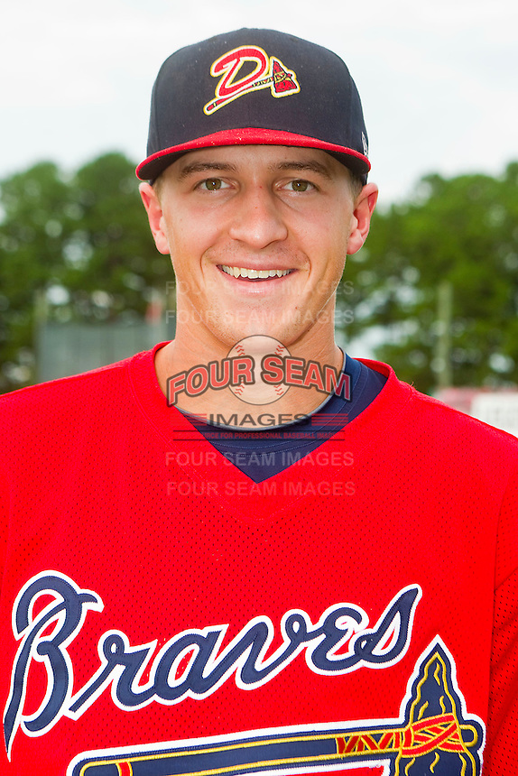 Shortstop Nick Ahmed #22 of the Danville Braves prior to the game against the Burlington Royals at Burlington Athletic Park on August 14, 2011 in Burlington, North Carolina.  The Braves defeated the Royals 10-2 in a game called by rain in the bottom of the 8th inning.   (Brian Westerholt / Four Seam Images)