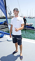 31 July 2017 - Mallorca, Spain - Pierre Casiraghi on board of the Malizia catamaran during the 36th Copa del Rey Mapfre Sailing Cup, Day 1 at Palma de Mallorca, Spain. Photo: PPE/ThortonCredit: PPE/face to face/AdMedia