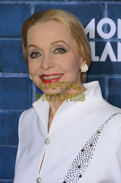 Anne Jeffreys.Montblanc Hosts Pre-Oscar Charity Brunch Benefiting UNICEF held at Hotel Bel-Air, Los Angeles, California, USA..February 23rd, 2013.headshot portrait white.CAP/ADM/TW.©Tonya Wise/AdMedia/Capital Pictures
