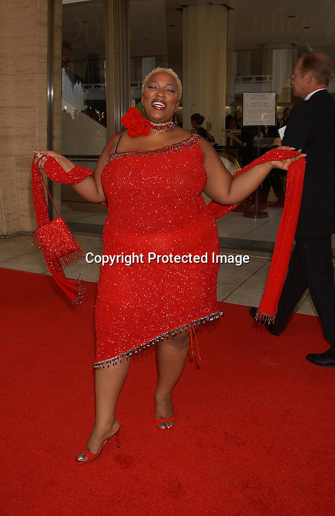 "Frenchie Davis                              ..at the 31st Annual ""FiFi"" Awards on June 9, 2003 at ..Avery Fisher Hall .                                                           Photo by Robin Platzer, Twin Images"