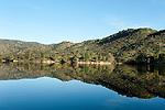 Reservoir Embalse del Jandula, Sierra de Andujar Natural Park, Sierra Morena, Andalucia, Spain