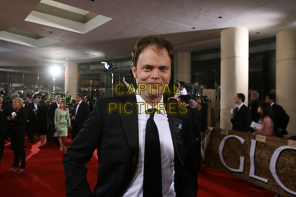 "RAINN WILSON.Red Carpet Arrivals - 64th Annual Golden Globe Awards, Beverly Hills HIlton, Beverly Hills, California, USA..January 15th 2007.globes half length black suit jacket .CAP/AW.Please use accompanying story.Supplied by Capital Pictures.© HFPA"" and ""64th Golden Globe Awards"""