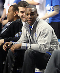 Jodie Meeks came to watch ESPN Game Day at Rupp Arena on Saturday, Feb. 13, 2010 . Photo by Britney McIntosh | Staff