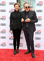 12 November 2017 - Hollywood, California - Annette Bening, Elvis Costello. &quot;Film Stars Don't Die In Liverpool&quot; AFI FEST 2017 Screening held at TCL Chinese Theatre. <br /> CAP/ADM/FS<br /> &copy;FS/ADM/Capital Pictures