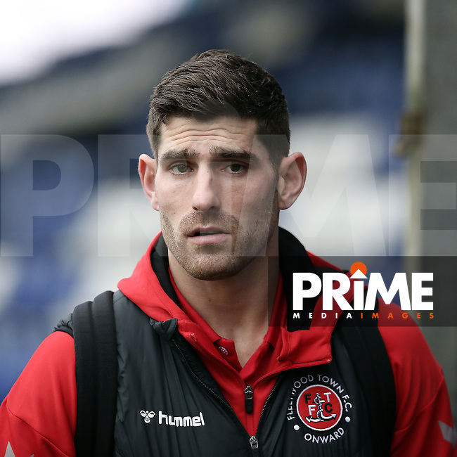 Ched Evans of Fleetwood Town before the Sky Bet League 1 match between Bristol Rovers and Fleetwood Town at the Memorial Stadium, Bristol, England on 25 January 2020. Photo by Dave Peters / PRiME Media Images.