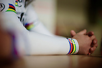 Kuurne-Brussel-Kuurne 2012<br /> rainbow sleeve