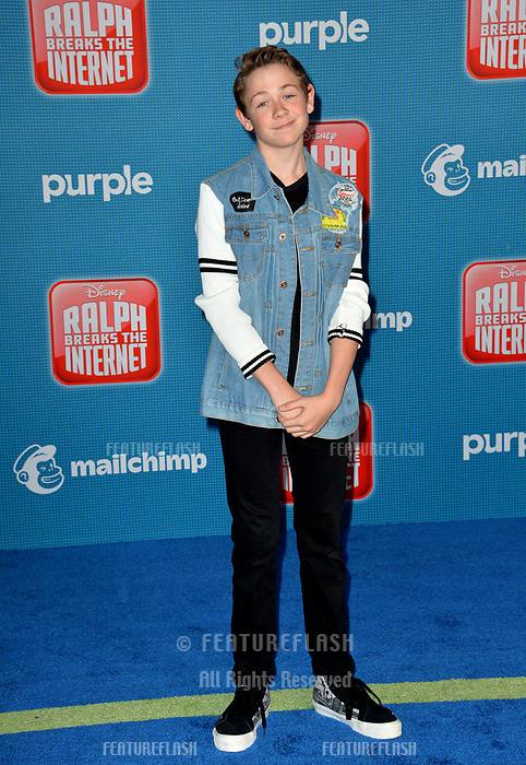 LOS ANGELES, CA. November 05, 2018: Dakota Lotus at the world premiere of &quot;Ralph Breaks The Internet&quot; at the El Capitan Theatre.<br /> Picture: Paul Smith/Featureflash
