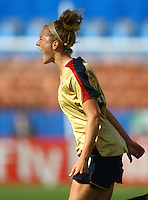 Kirstie Mewis (USA) celebrates her goal..FIFA U17 Women's World Cup, USA v Korea Republic, Waikato Stadium, Hamilton, New Zealand, Sunday 9 November 2008. Photo: Renee McKay/PHOTOSPORT