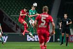 Maximilian Eggestein (Werder Bremen #35)<br /> Sport: Fussball: 1. Bundesliga: Saison 19/20: <br /> 26. Spieltag: SV Werder Bremen vs Bayer 04 Leverkusen, 18.05.2020<br /> <br /> Foto ©  gumzmedia / Nordphoto / Andreas Gumz / POOL <br /> <br /> Nur für journalistische Zwecke! Only for editorial use!<br />  DFL regulations prohibit any use of photographs as image sequences and/or quasi-video.