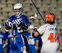 during the ACC men's lacrosse tournament semifinals in College Park, MD.  Virginia defeated Duke, 16-12.