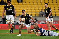 Wellington&rsquo;s Wes Goosen in action during the Mitre 10 Cup - Wellington v Auckland at Westpac Stadium, Wellington, New Zealand on Thursday 4 October 2018. <br /> Photo by Masanori Udagawa. <br /> www.photowellington.photoshelter.com