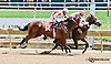 Jabuzi winning at Delaware Park on 7/17/13