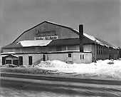 Palestra Ice Arena located in Marquette Michigan. Home of the Marquette Iron Rangers, a semi-pro hockey team, member of the United States Hockey League. It was built in Calumet in 1906 and moved to Marquette in 1921. Torn down in 1974