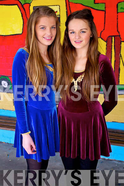 Rachel O'Connell and Kasie O'Donoghue (Cahersiveen) pictured at Youth Factor held in CBS Primary School, Tralee, on Saturday