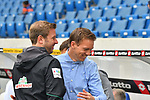 11.05.2019, PreZero Dual Arena, Sinsheim, GER, 1. FBL, TSG 1899 Hoffenheim vs. SV Werder Bremen, <br /> <br /> DFL REGULATIONS PROHIBIT ANY USE OF PHOTOGRAPHS AS IMAGE SEQUENCES AND/OR QUASI-VIDEO.<br /> <br /> im Bild: Florian Kohlfeldt (Trainer / Interimstrainer, SV Werder Bremen) und Julian Nagelsmann (Trainer TSG Hoffenheim)<br /> <br /> Foto &copy; nordphoto / Fabisch