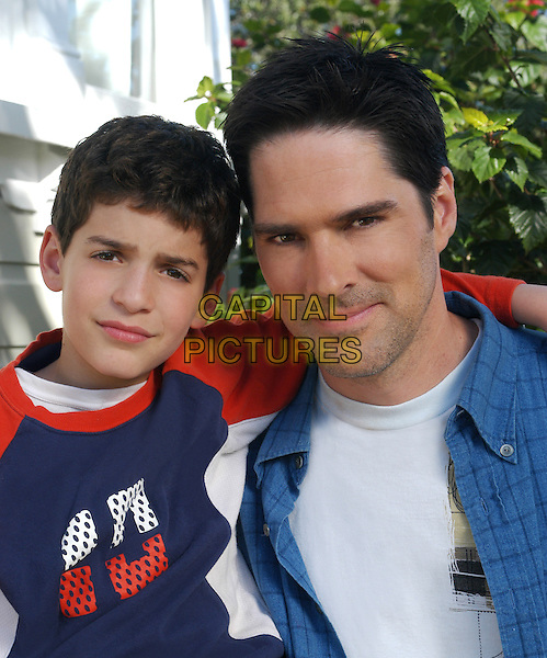 Jeremy Bergman & Thomas Gibson.in Raising Waylon .*Filmstill - Editorial Use Only*.CAP/NFS.Supplied by Capital Pictures.