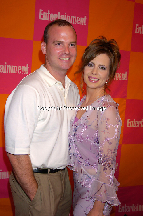 "Martha Byrne and husband Michael McMahon..at The Entertainment Weekly's ""The Must List"" party at ..Crobar in New York City on June 17, 2004. ..Photo by Robin Platzer, Twin Images"